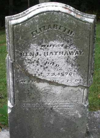 HATHAWAY, ELIZABETH - Warren County, Ohio | ELIZABETH HATHAWAY - Ohio Gravestone Photos