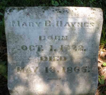 HAYNES, MARY B. - Warren County, Ohio | MARY B. HAYNES - Ohio Gravestone Photos