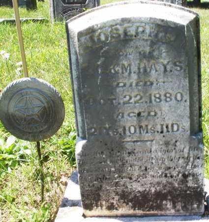 HAYS, JOSEPH - Warren County, Ohio | JOSEPH HAYS - Ohio Gravestone Photos