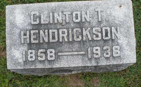 HENDRICKSON, CLINTON T. - Warren County, Ohio | CLINTON T. HENDRICKSON - Ohio Gravestone Photos