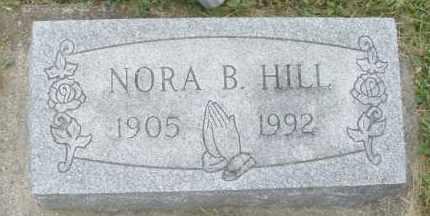 HILL, NORA B. - Warren County, Ohio | NORA B. HILL - Ohio Gravestone Photos