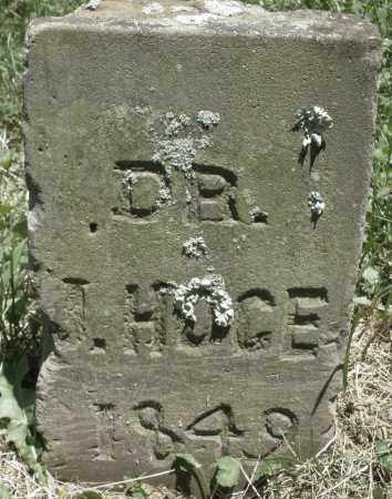 HOGE, J. DR. - Warren County, Ohio | J. DR. HOGE - Ohio Gravestone Photos