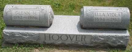 HOOVER, GLENN H. - Warren County, Ohio | GLENN H. HOOVER - Ohio Gravestone Photos