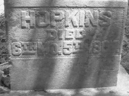 HOPKINS, E. - Warren County, Ohio | E. HOPKINS - Ohio Gravestone Photos