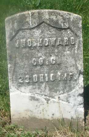 HOWARD, JNO. - Warren County, Ohio | JNO. HOWARD - Ohio Gravestone Photos