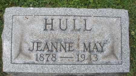 HULL, JEANNE MAY - Warren County, Ohio | JEANNE MAY HULL - Ohio Gravestone Photos