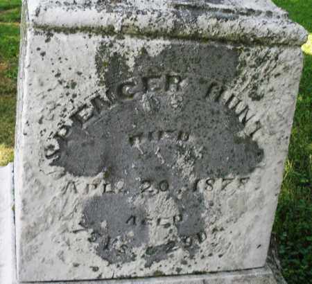 HUNT, SPENCER - Warren County, Ohio | SPENCER HUNT - Ohio Gravestone Photos