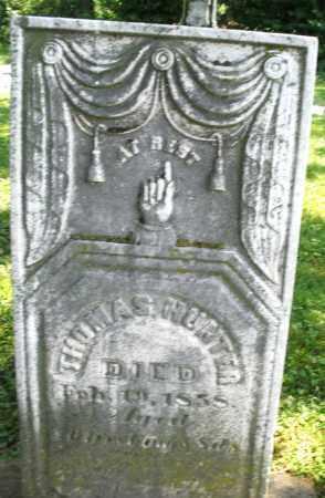 HUNTER, THOMAS - Warren County, Ohio | THOMAS HUNTER - Ohio Gravestone Photos