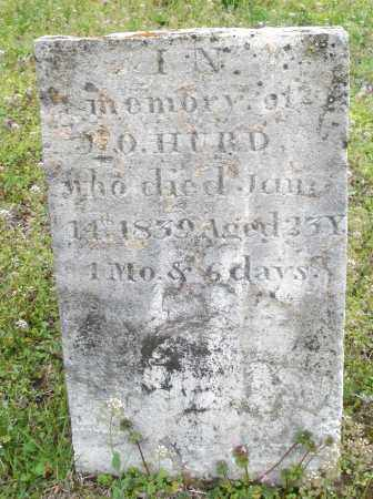 HURD, J.O. - Warren County, Ohio   J.O. HURD - Ohio Gravestone Photos