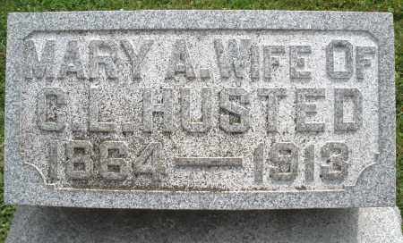 HUSTED, MARY A. - Warren County, Ohio | MARY A. HUSTED - Ohio Gravestone Photos