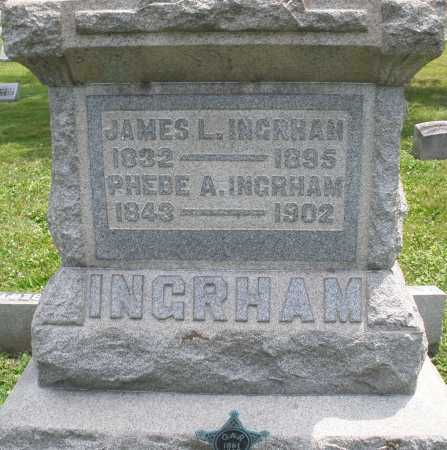 INGRHAM, PHEBE A. - Warren County, Ohio | PHEBE A. INGRHAM - Ohio Gravestone Photos