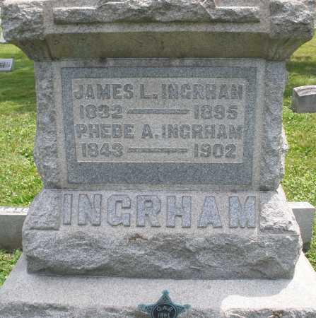 INGRHAM, JAMES L. - Warren County, Ohio | JAMES L. INGRHAM - Ohio Gravestone Photos