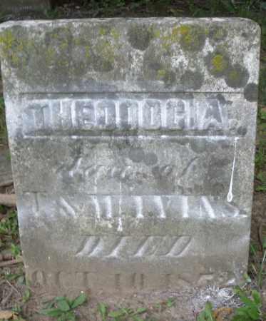 IVINS, THEODOCIA - Warren County, Ohio | THEODOCIA IVINS - Ohio Gravestone Photos