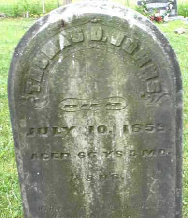 JOHNS, THOMAS D. - Warren County, Ohio | THOMAS D. JOHNS - Ohio Gravestone Photos