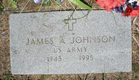 JOHNSON, JAMES A. - Warren County, Ohio | JAMES A. JOHNSON - Ohio Gravestone Photos