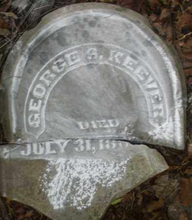 KEEVER, GEORGE S. - Warren County, Ohio | GEORGE S. KEEVER - Ohio Gravestone Photos