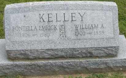 KELLEY, WILLIAM A. - Warren County, Ohio | WILLIAM A. KELLEY - Ohio Gravestone Photos