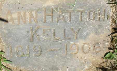 HATTON KELLY, ANN - Warren County, Ohio | ANN HATTON KELLY - Ohio Gravestone Photos