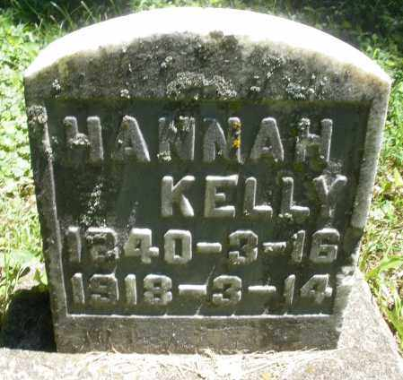 KELLY, HANNAH - Warren County, Ohio | HANNAH KELLY - Ohio Gravestone Photos