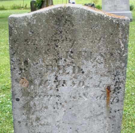 KELSEY, ? - Warren County, Ohio | ? KELSEY - Ohio Gravestone Photos