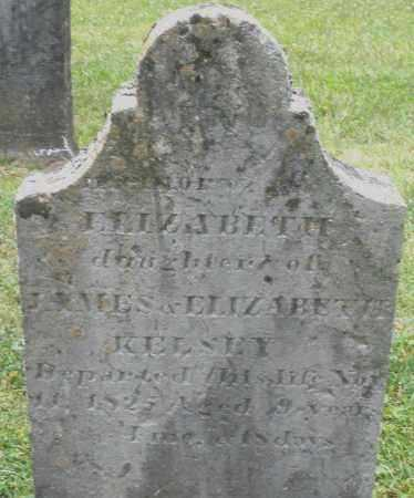 KELSEY, ELIZABETH - Warren County, Ohio | ELIZABETH KELSEY - Ohio Gravestone Photos