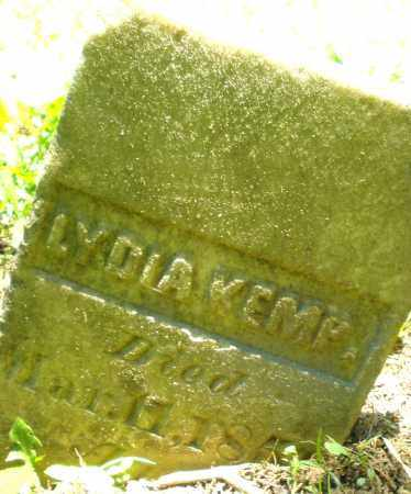 KEMP, LYDIA - Warren County, Ohio | LYDIA KEMP - Ohio Gravestone Photos