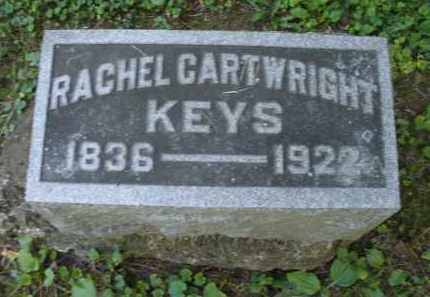 CARTWRIGHT KEYS, RACHEL - Warren County, Ohio | RACHEL CARTWRIGHT KEYS - Ohio Gravestone Photos
