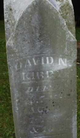 KIRBY, DAVID N. - Warren County, Ohio | DAVID N. KIRBY - Ohio Gravestone Photos