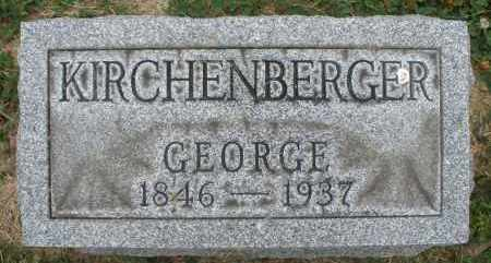 KIRCHENBERGER, GEORGE - Warren County, Ohio | GEORGE KIRCHENBERGER - Ohio Gravestone Photos