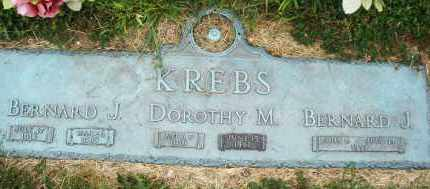 KREBS, BERNARD J. - Warren County, Ohio | BERNARD J. KREBS - Ohio Gravestone Photos