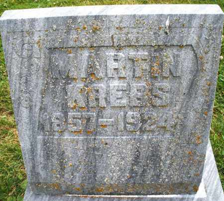 KREBS, MARTIN - Warren County, Ohio | MARTIN KREBS - Ohio Gravestone Photos