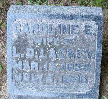 LACKEY, CAROLINE E. - Warren County, Ohio | CAROLINE E. LACKEY - Ohio Gravestone Photos
