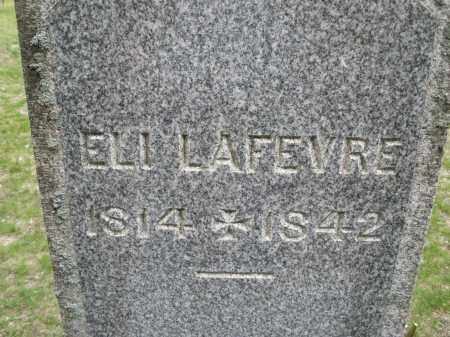 LAFEVRE, ELI - Warren County, Ohio | ELI LAFEVRE - Ohio Gravestone Photos