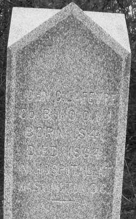 LAFEVRE, JOHN C. - Warren County, Ohio | JOHN C. LAFEVRE - Ohio Gravestone Photos