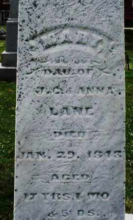 LANE, MARY - Warren County, Ohio | MARY LANE - Ohio Gravestone Photos