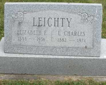 LEICHTY, ELIZABETH  F. - Warren County, Ohio | ELIZABETH  F. LEICHTY - Ohio Gravestone Photos