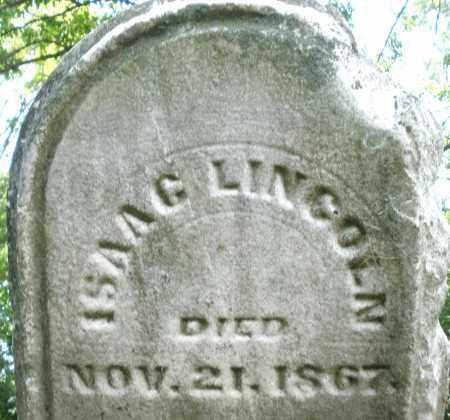 LINCOLN, ISAAC - Warren County, Ohio   ISAAC LINCOLN - Ohio Gravestone Photos