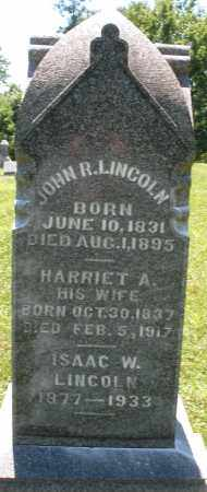 LINCOLN, HARRIET A. - Warren County, Ohio | HARRIET A. LINCOLN - Ohio Gravestone Photos