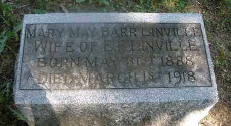 BARR LINVILLE, MARY MAY - Warren County, Ohio | MARY MAY BARR LINVILLE - Ohio Gravestone Photos