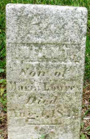 LOWREY, INFANT SON - Warren County, Ohio | INFANT SON LOWREY - Ohio Gravestone Photos