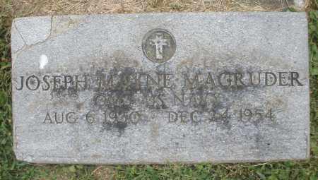 MAGRUDER, JOSEPH MAYNE - Warren County, Ohio | JOSEPH MAYNE MAGRUDER - Ohio Gravestone Photos
