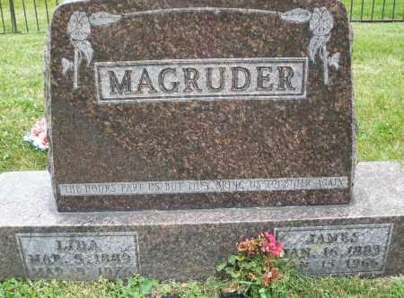 MAGRUDER, LIDA - Warren County, Ohio | LIDA MAGRUDER - Ohio Gravestone Photos