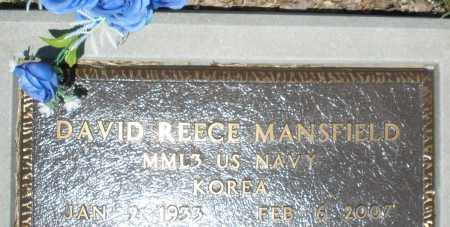 MANSFIELD, DAVID REECE - Warren County, Ohio | DAVID REECE MANSFIELD - Ohio Gravestone Photos