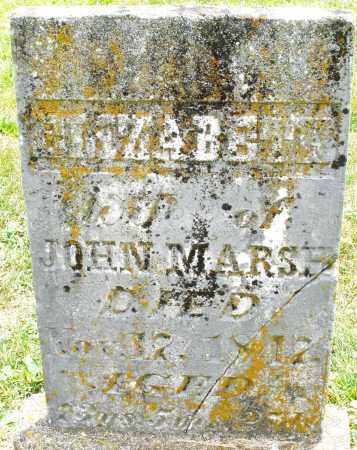 MARSH, ELIZABETH - Warren County, Ohio | ELIZABETH MARSH - Ohio Gravestone Photos