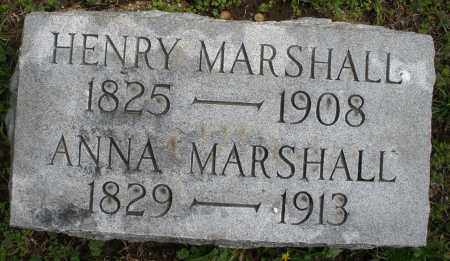 MARSHALL, ANNA - Warren County, Ohio | ANNA MARSHALL - Ohio Gravestone Photos