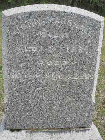 MARSHALL, JOHN - Warren County, Ohio | JOHN MARSHALL - Ohio Gravestone Photos