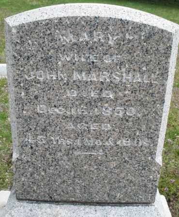 MARSHALL, MARY - Warren County, Ohio | MARY MARSHALL - Ohio Gravestone Photos