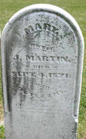 MARTIN, MARY - Warren County, Ohio | MARY MARTIN - Ohio Gravestone Photos