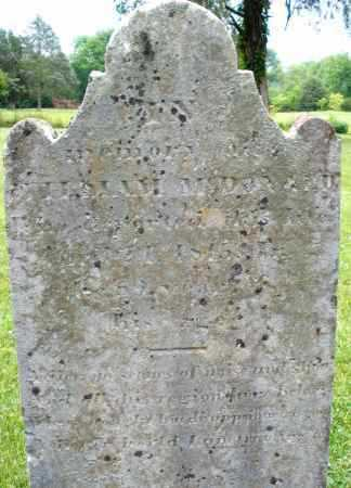 MCDONAUD/MCDONALD, WILLIAM - Warren County, Ohio   WILLIAM MCDONAUD/MCDONALD - Ohio Gravestone Photos