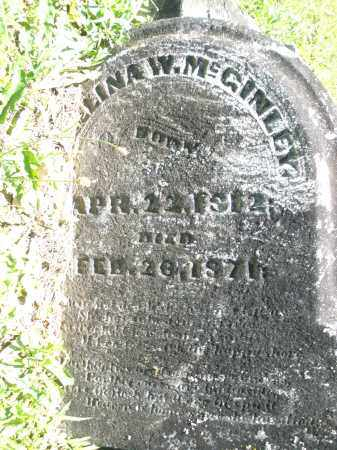 MCGINLEY, ???ELINA W. - Warren County, Ohio | ???ELINA W. MCGINLEY - Ohio Gravestone Photos